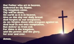 Sunday School Lesson 10 – The Lord's Prayer